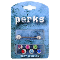Jewelled Tongue Bar Bonus Pack