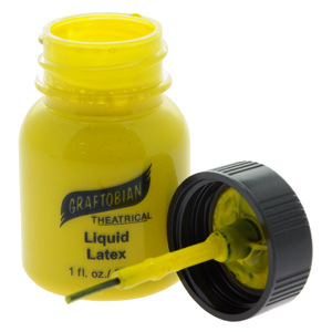Yellow Liquid Latex Paint