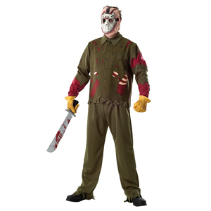 Adult Jason Deluxe Outfit
