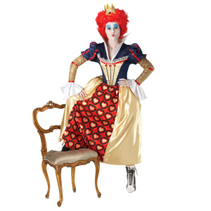 Disney Red Queen Fancy Dress