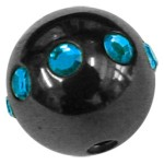 Blackline Light Blue Threaded Circoballs