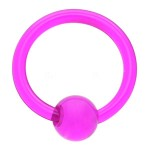 Purple UV Ball Closure Ring