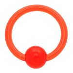 Red UV Ball Closure Ring