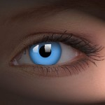 Blue UV Contacts Lenses
