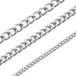 Stainless Steel Flat Curb Chain