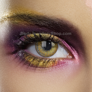 Colour Vision Hazel 3 Tone Contact Lenses
