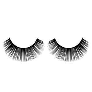 Thick Flared Natural False Eyelashes