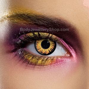 Golden Twilight Vampire Contact Lenses