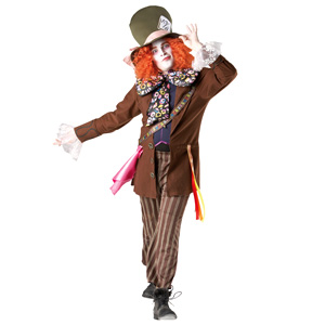 Mad Hatter Fancy Dress Costume