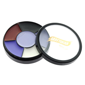 Vampire Theme Makeup Wheel