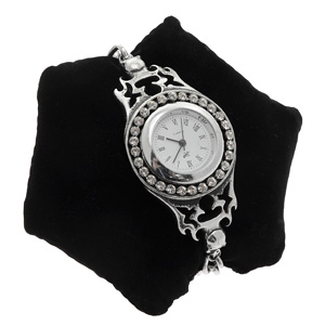 Alchemy Gothic Barbarella Crystal Watch
