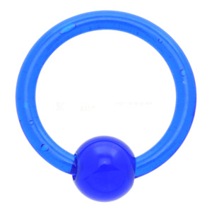 UV Blue Ball Closure Ring