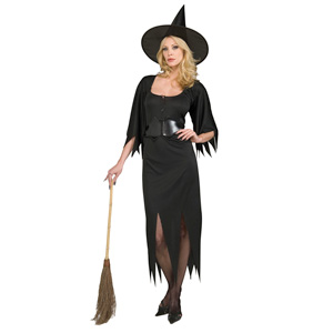Black Witch Fancy Dress Outfit