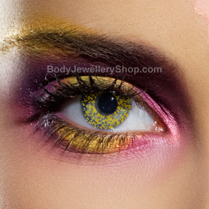 Gold Glimmer Contact Lenses