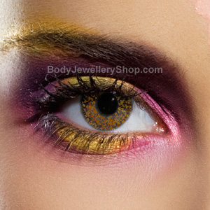 EDIT Glimmer Hazel Contact Lenses