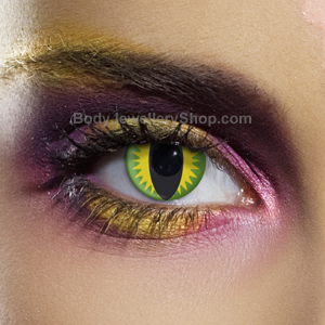 Green Dragon Contact Lenses