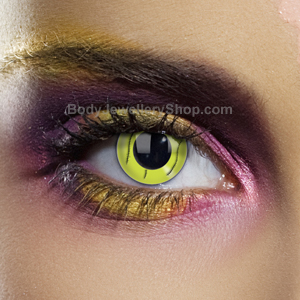 Frankenstein Green Stitch Contact Lenses