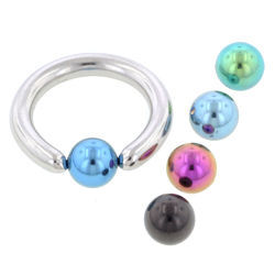 Ball Closure Ring & Clip In Accessory Bonus Pack