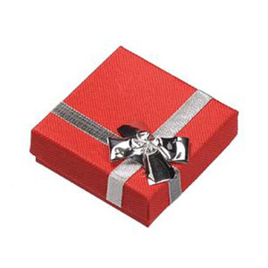 Red Earring Gift Box