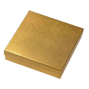 Large Gold Gift Box