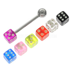 Tongue Bar & Threaded Dice Bonus Pack