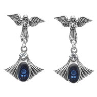 Alchemy Gothic Crux Angelicum Earrings