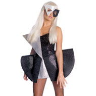 Black White Lady Gaga Costume