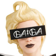 Lady Gaga Costume Glasses