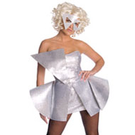White Lady Gaga Costume