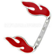 Red Flame Bioplast Eyebrow Bar
