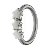 3 Star Ball Closure Ring
