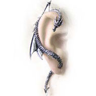 Alchemy Gothic Dragons Lure Earring