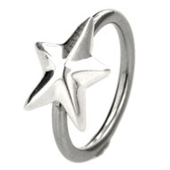 Large Star Ball Closure Ring