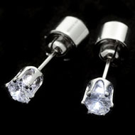 Light Up CZ Earrings