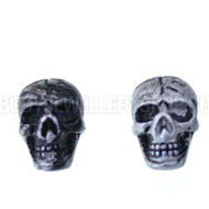 Skull Magnetic Earrings