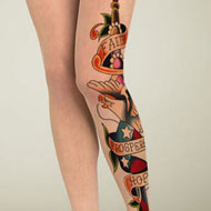 American Eagle Tattoo Stockings