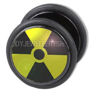 Radiation Fake Flesh Plug