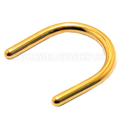 Gold Plated Septum Retainer