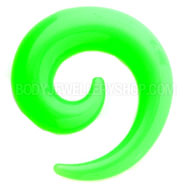 Green UV Stretching Spiral