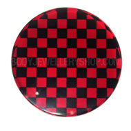 Red Checkerboard Stretching Jewellery