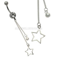Star Jewelled Belly Bar