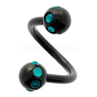 Blue Zircon Circo Blackline Body Spiral