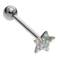 Jewelled Star Tongue Bar