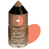 Miss Match Cocoa Bean Colour Change Nail Polish
