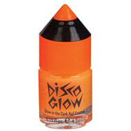 Orange Disco Glow Nail Polish
