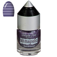 Purple Stripe Magnetic Nail Polish