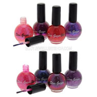 Ultra Cover Glitter Nail Polish Pinks Purples