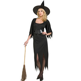Black Witch Halloween Costume