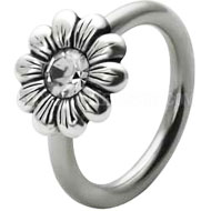 Daisy Ball Closure Ring