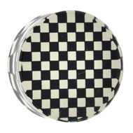 Checkerboard Large Gauge Flesh Plug